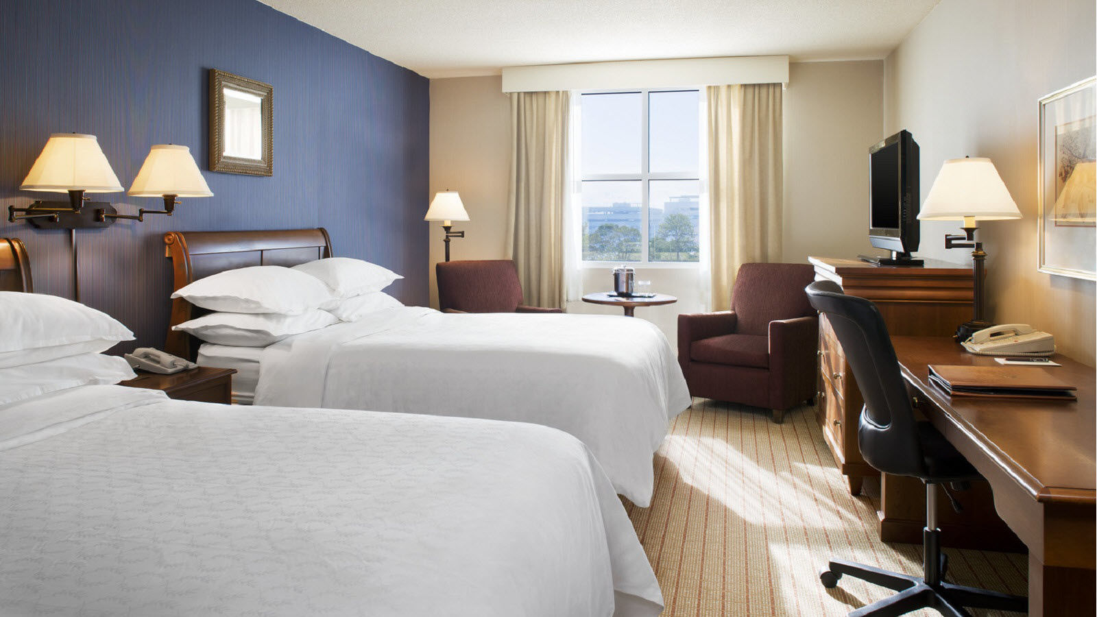 Sheraton Providence Airport Double Guest Room
