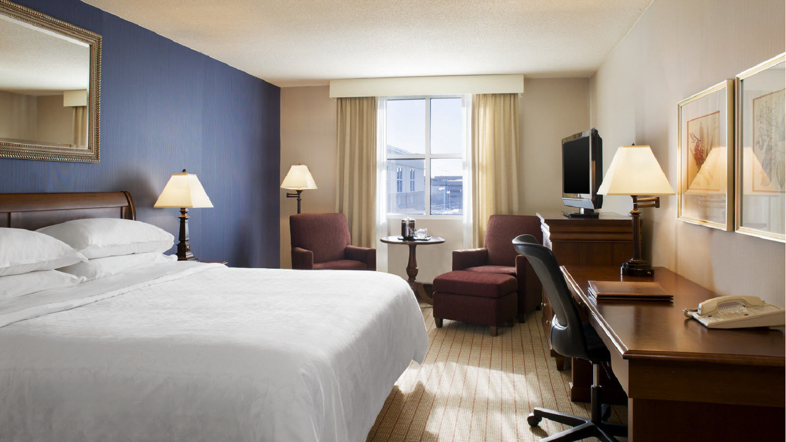 Sheraton Providence Airport King Guest Room